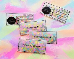 Upscale Diy Confetti Business Cards Diy Confetti Business Cards Popsugar Australia Living Diy Business Cards Using Microsoft Word Diy Business Cards Online