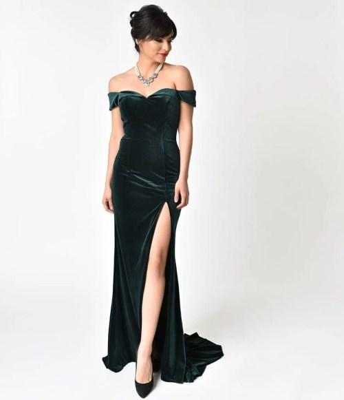 Medium Of Hunter Green Dress
