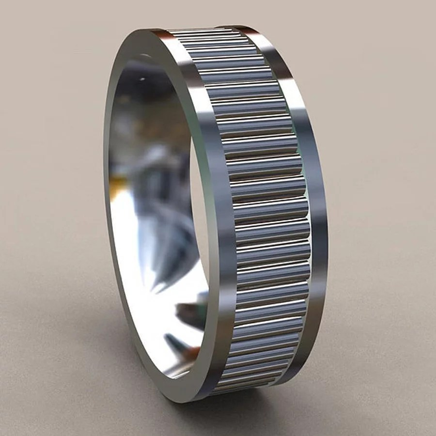 Unique Engagement Rings Men mens unique wedding rings