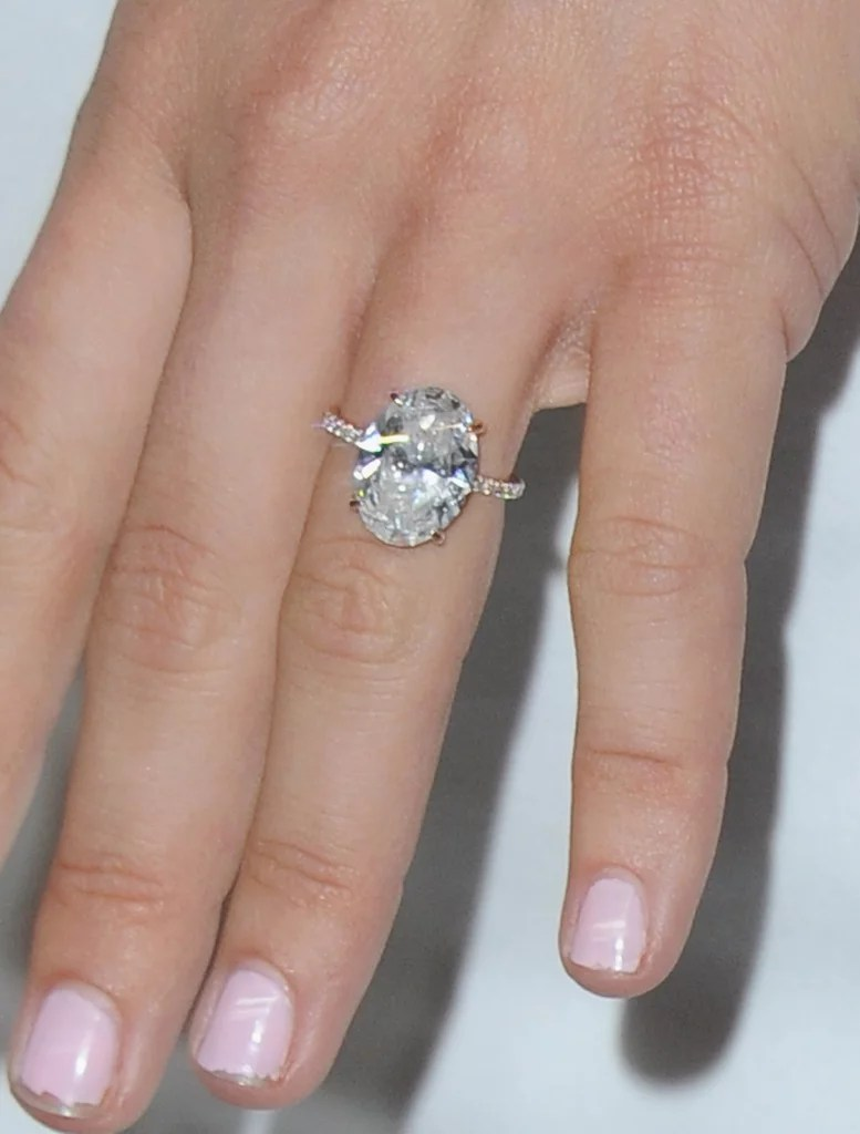 Celebrity Engagement Rings jcpenney jewelry wedding rings Julianne Hough