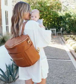 Small Of Fawn Diaper Bag