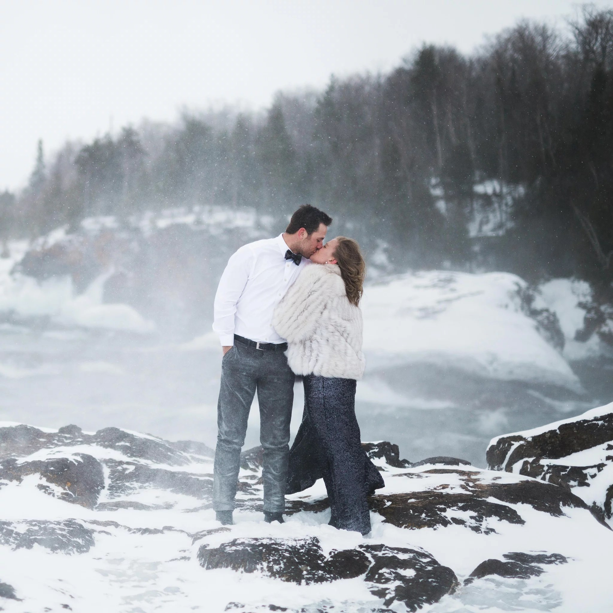 Fullsize Of Winter Engagement Photos