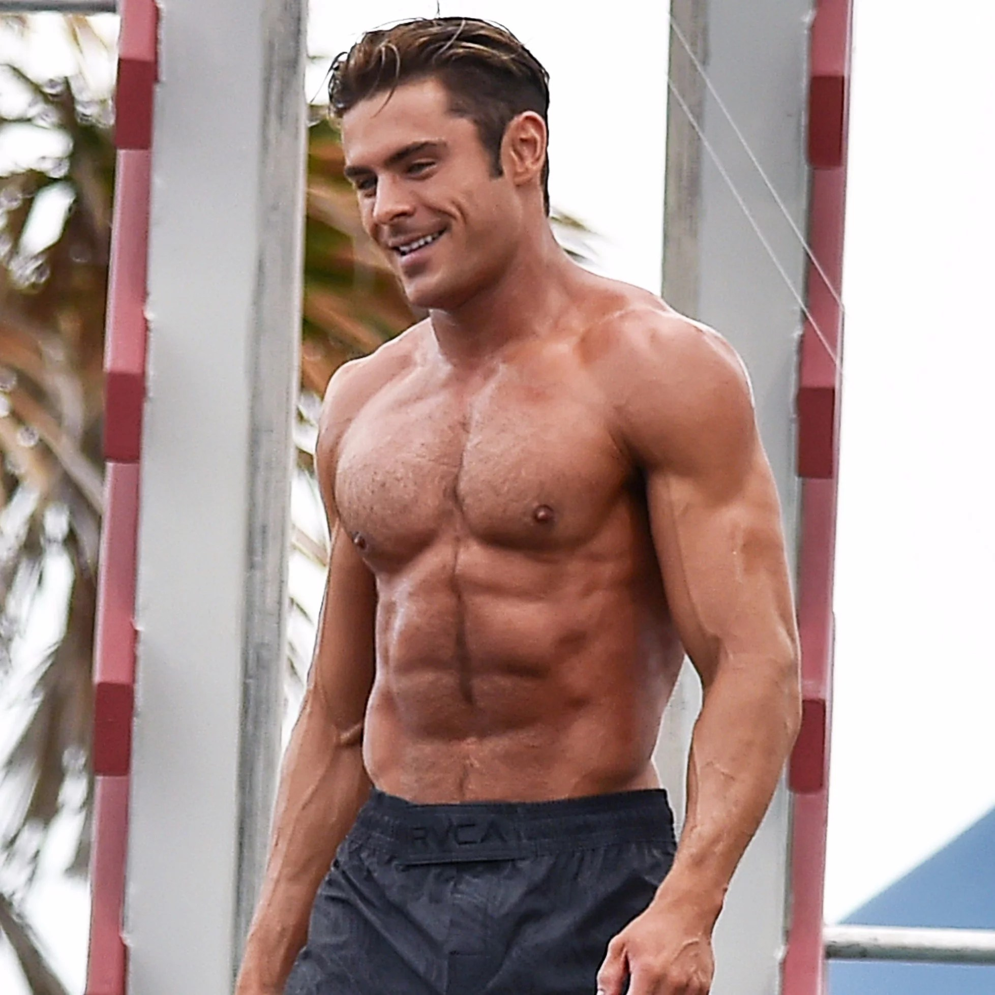 Zac Efron Shirtless   Pictures   POPSUGAR Celebrity