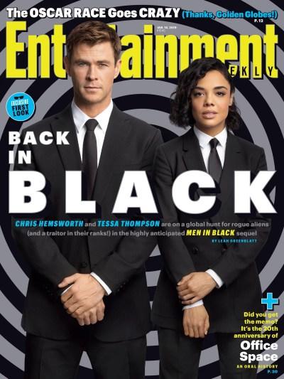 Men in Black International Entertainment Weekly Cover 2019 ...