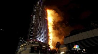 Fire Breaks Out in Dubai Skyscraper Near the Burj Khalifa ...
