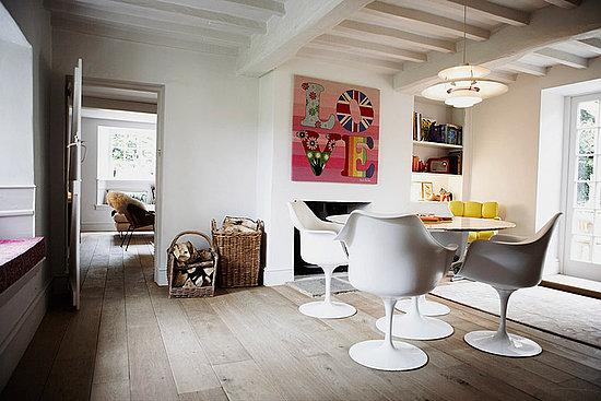 Saarinen dining room