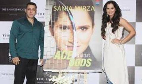 Salman Khan and Sania Mirza