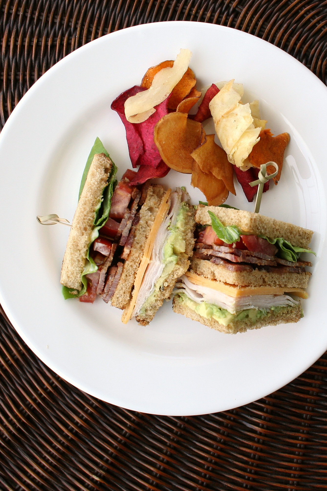 Flagrant Club Like Burgers Or Fried Come Stylesand Some Prefer Turkey To Rye Bread To How To Make Club Sandwich Popsugar Middle East Food A Myriad nice food Turkey Club Sandwich