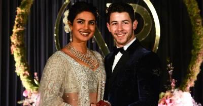 See Priyanka Chopra's wedding dress in revealed wedding photos
