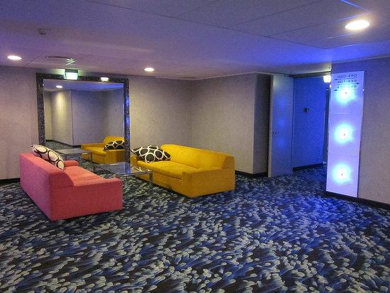 Funky hotel decor