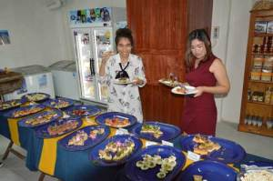 Party with Swedish delicasies at Cajutan in Bangkok