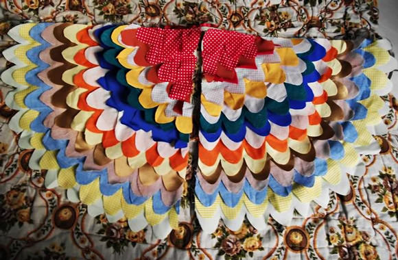 DIY Bird Wings Costume