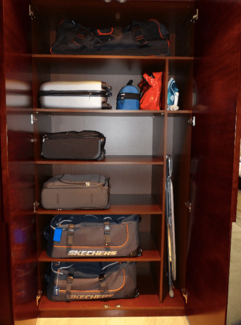Luggage storage