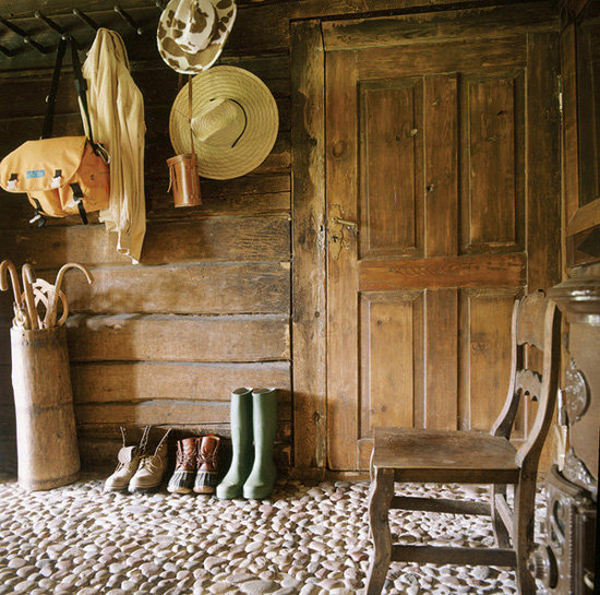 Estonian rustic farmhouse