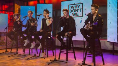 Watch boy band Why Don't We perform 'These Girls' live on TODAY - TODAY.com