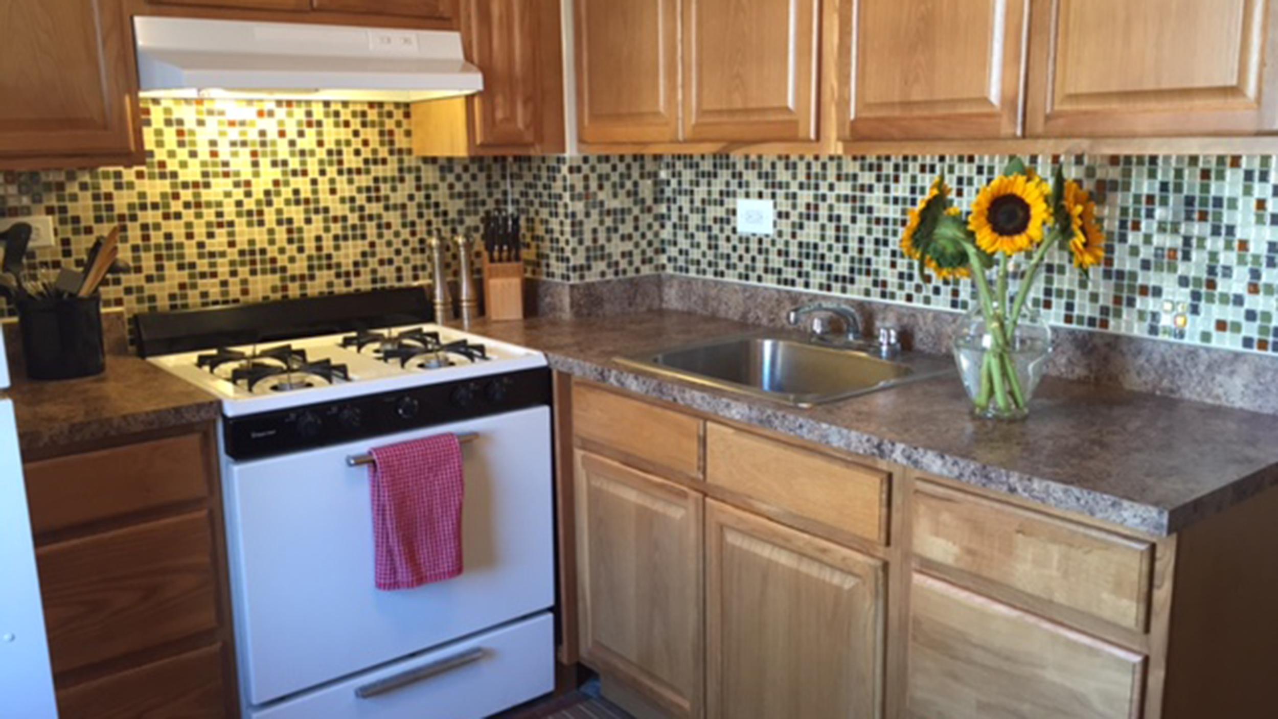 today tests peel stick backsplash tiles theyre everything we hoped t backsplashes for kitchens