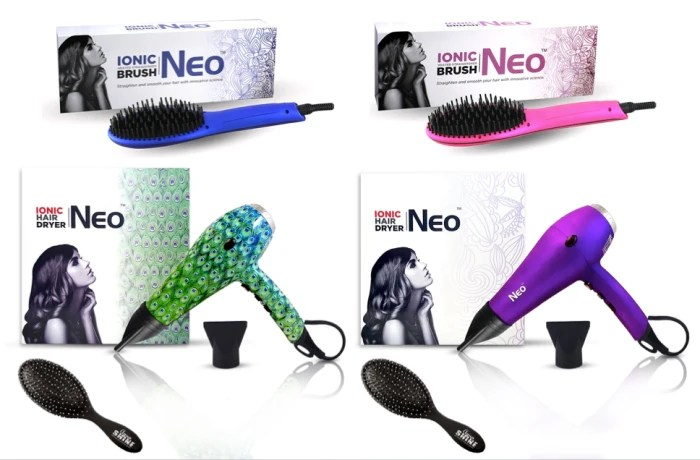Neo hair styling tools seen on Channel 4 Steals and Deals today