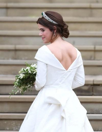 Princess Eugenie's wedding tiara: Story behind the headpiece