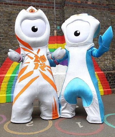 London mascots