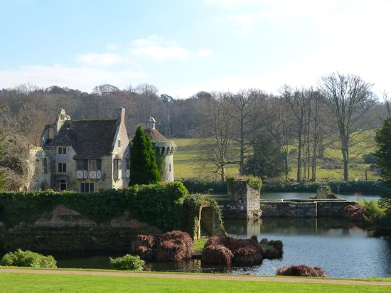 Scotney Castle- A National Trust property in Lamberhurst, Kent, UK