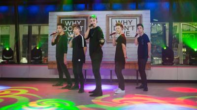 Watch boy band Why Don't We perform 'Something Different' live - TODAY.com