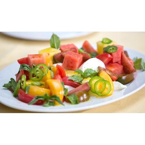 Medium Crop Of Heirloom Tomato Salad