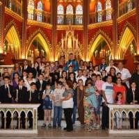 Solene Missa de Batizado e Primeira Comunhão