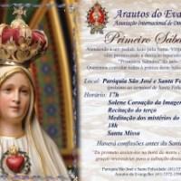Primeiro Sábado de Abril - Convite