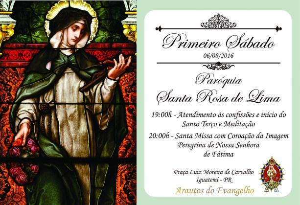 1oSabadoAgosto_Convite Santa Rosa de Lima