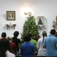 Novena de Natal e convite para concerto natalino