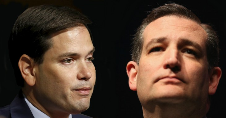 Rubio can't Win. Cruz can.
