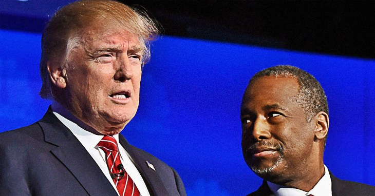 Ben Carson Suspicious Endorsement Donald Trump