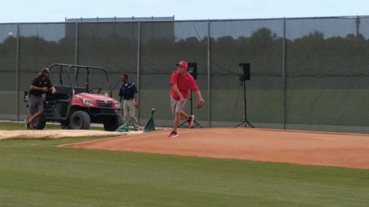 Sterling His Ferrari To Throw A Bullpensession Rickie Fowler Had A Bullpen Session At Cardinals Camp Rickie Fowler House Pics Rickie Fowler House Murrieta Rickie Fowler Rolled Up To Cardinals Camp curbed Rickie Fowler House