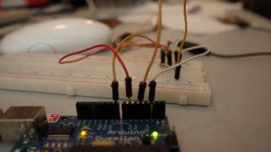 setup for capacitive sensing 2