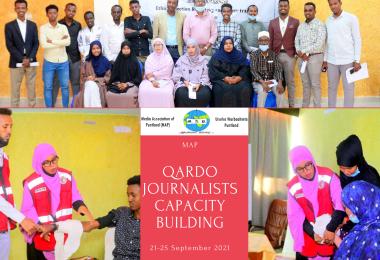 Qardo journalists capacity building (1)