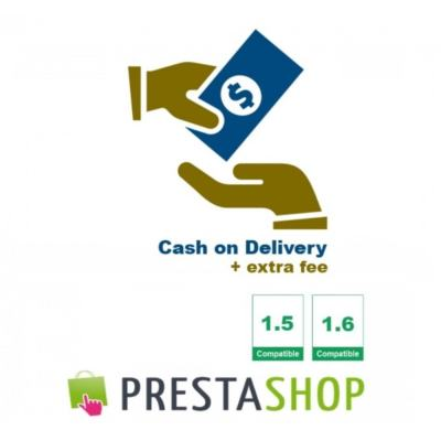 Cash on Delivery + extra fee (CoD) - PrestaShop Addons