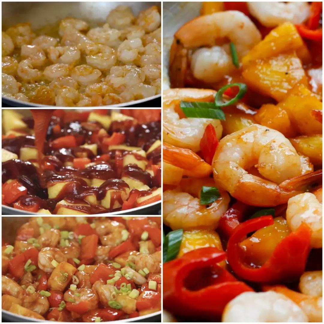 Fullsize Of Sweet And Sour Shrimp