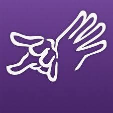 Purple communications icon 2013