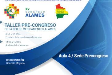 TALLER PRE-CONGRESO DE LA RED DE MEDICAMENTOS ALAMES
