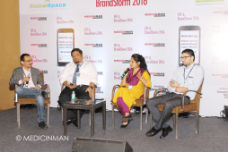 (L-R) Praful Akali - Managing Director, Medulla Communications; Ajit Nair - Marketing Manager at Sanofi; Nandita Dandekar - Respiratory Commercial Manager for Emerging Markets and Australasia, GSK; Daleep Manhas - General Manager & Associate Vice President at McCann Health