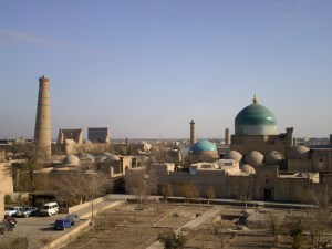 The skyline of the city of Khiva Image