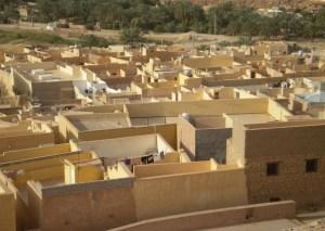 A residential area in Ghardaia, Algeria. Image