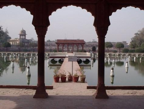 Shalimar Gardens in Lahore, Pakistan. Image.