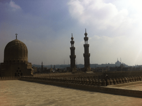 The fast-deteriorating breath-taking skyline of the old Cairo Image