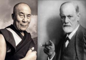dalai lama & sigmund freud