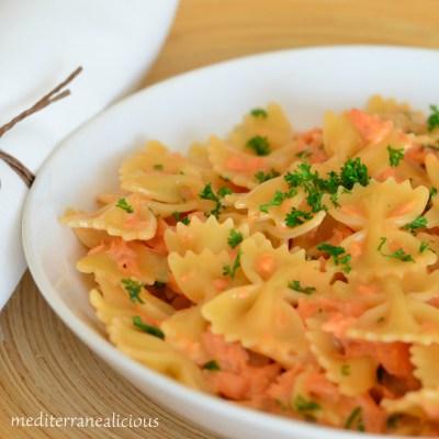Farfalle Al Salmone – Pasta With Salmon