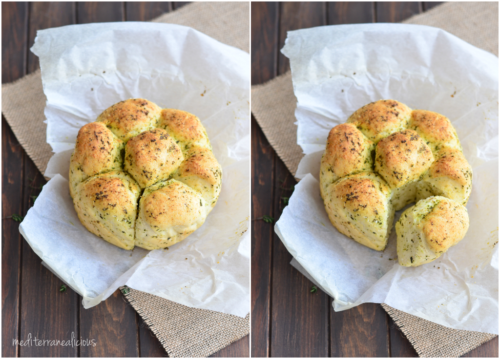 herb pull-apart bread 1
