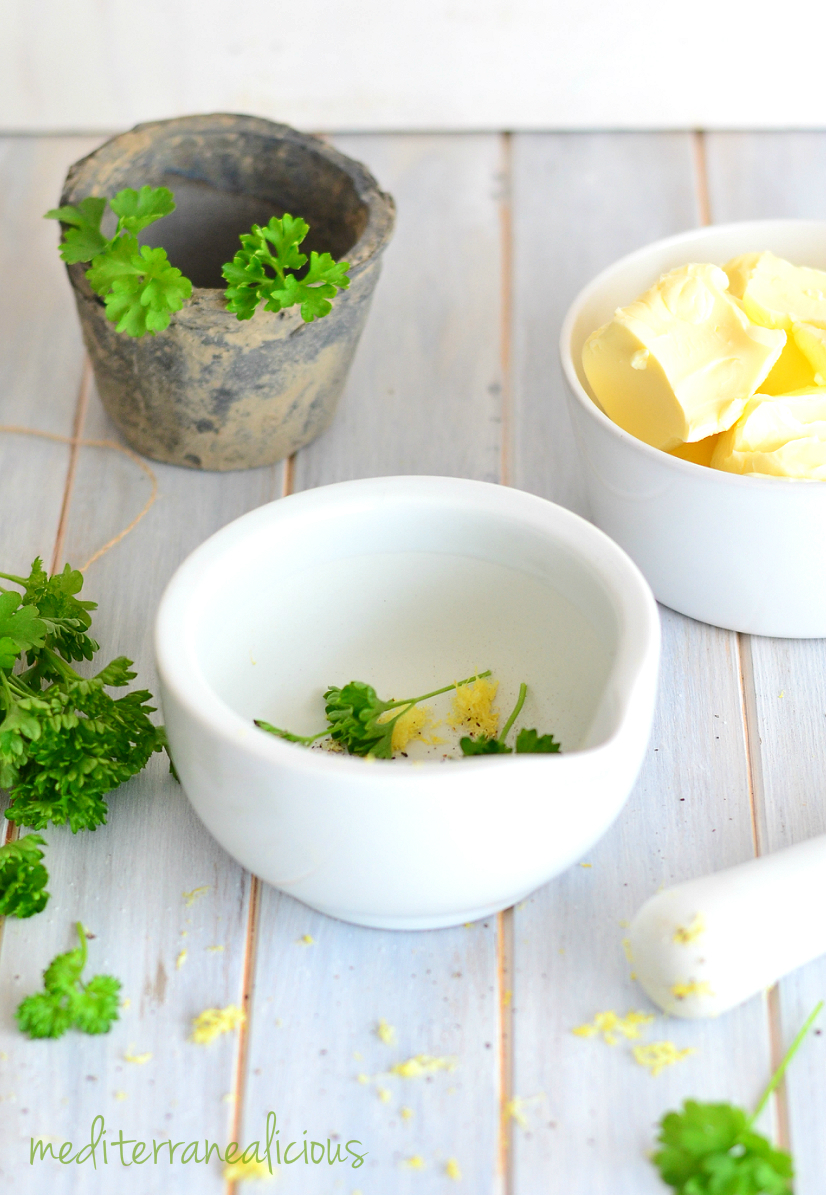 lemon parsley butter 1