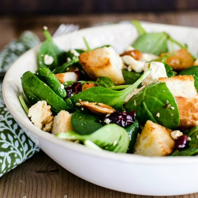 Fruity Crunch Salad With Toasted Almonds