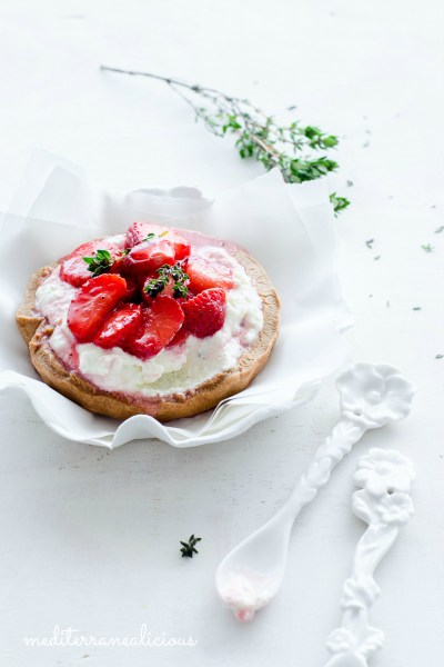 Roasted Strawberry Pastries